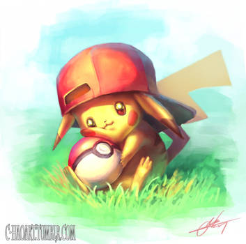 Pikachu by C-HaoArt
