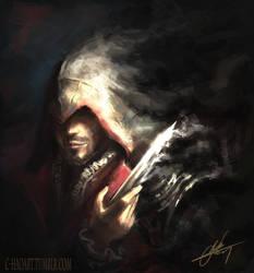 Ezio (Assassin's Creed) by C-HaoArt
