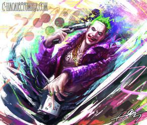 Joker (Suicide Squad) by C-HaoArt