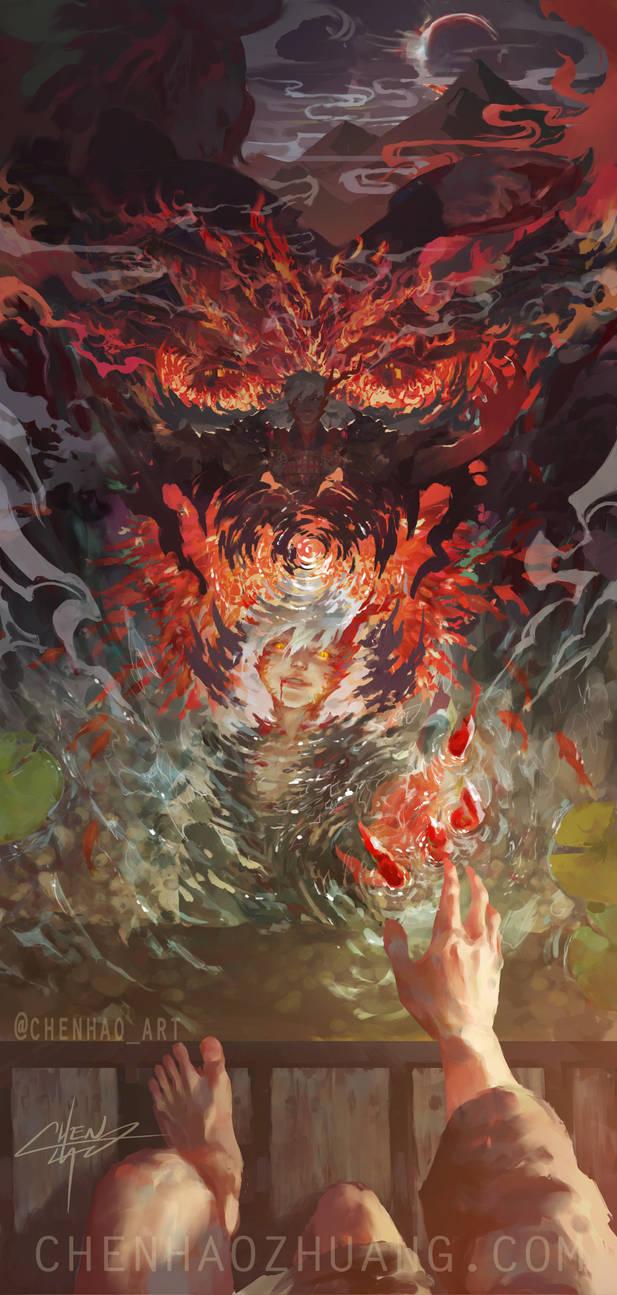 Ibaraki doji's Destiny by C-HaoArt
