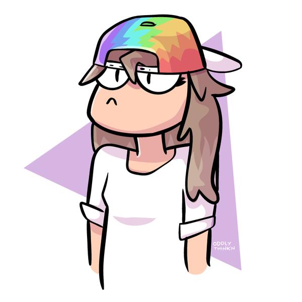 Rainbow Hat by xneetoh