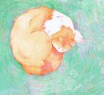 sleepy kitty purr purr purr xd