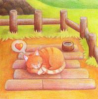 Stardew Valley cat :3 by yeyeyy