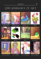 2019 summary of art by yeyeyy