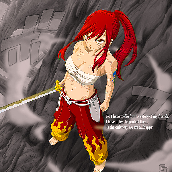 Erza Scarlet Wallpaper: Erza Scarlet By UliseesDragneel On DeviantArt