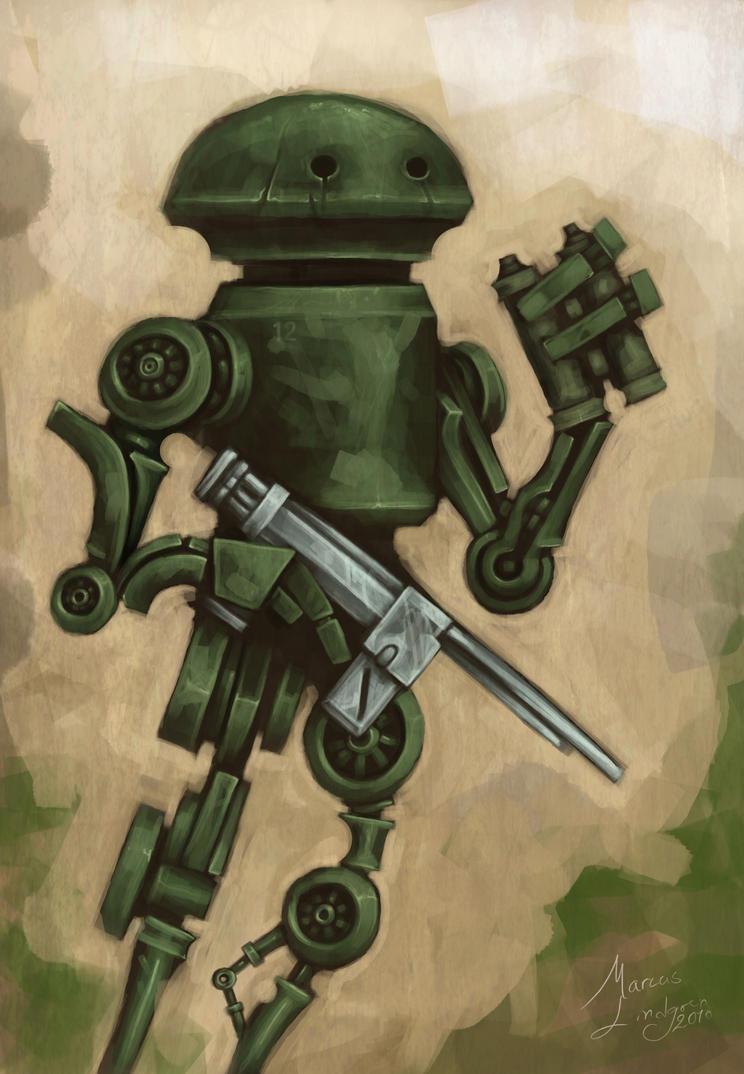 Scoutbot by Marcodalidingo