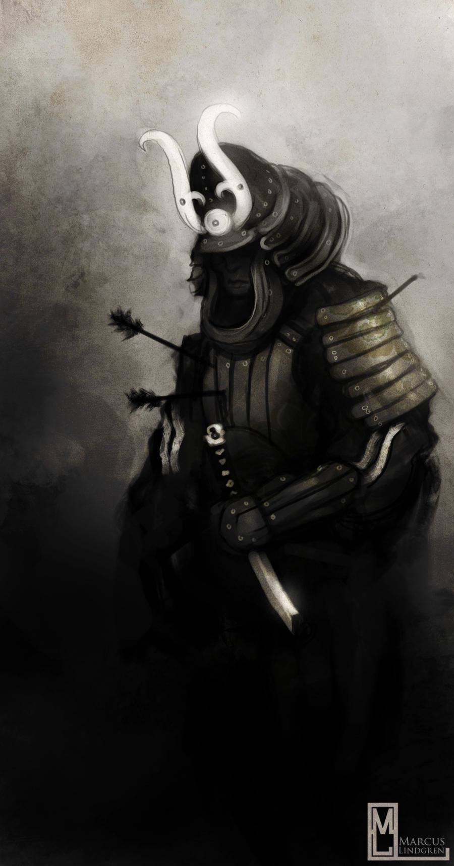 The last samurai by Marcodalidingo