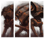 3 Rusted Robots