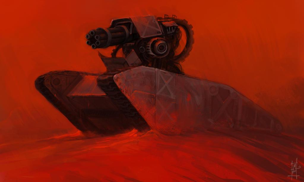 Mars Tank by Marcodalidingo