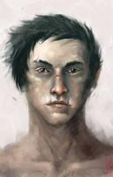 Young warrior by Marcodalidingo