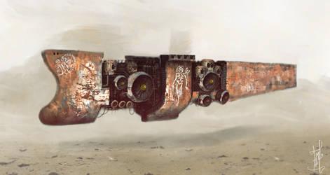 Sand Pirate Ship