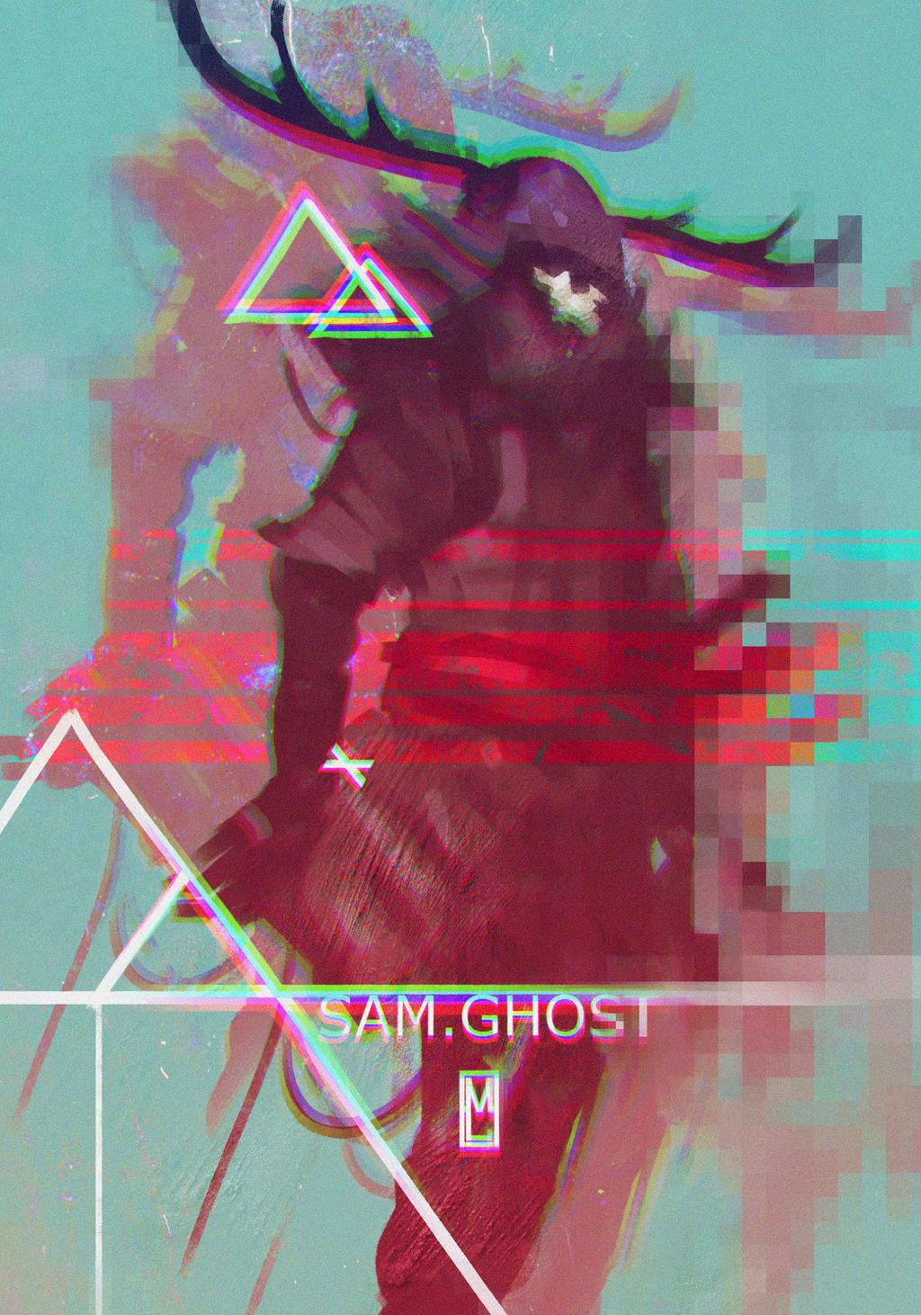 Samurai Ghost by Marcodalidingo