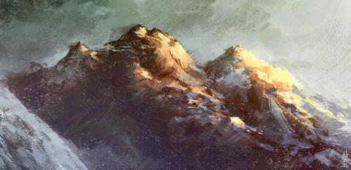 Mountain by Marcodalidingo