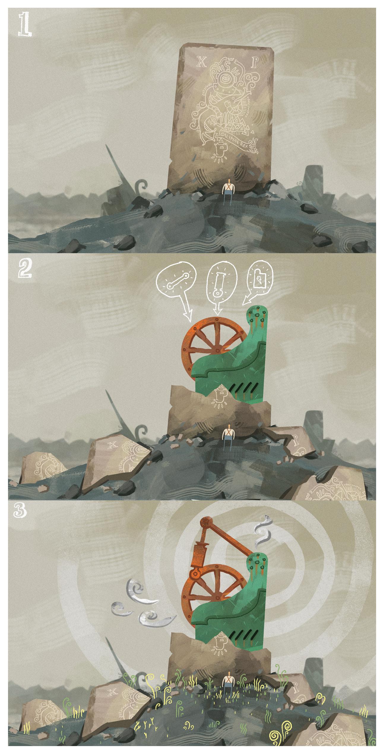 Hidden Machinery by Marcodalidingo