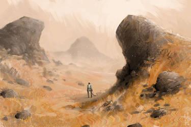 The Hills Have Cosmonauts by Marcodalidingo