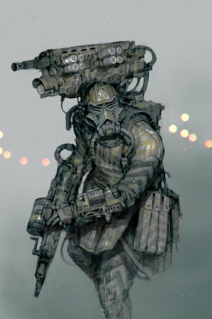 Perfected Commando by Marcodalidingo