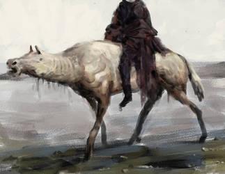 Headless Horseman Speedpaint by Marcodalidingo