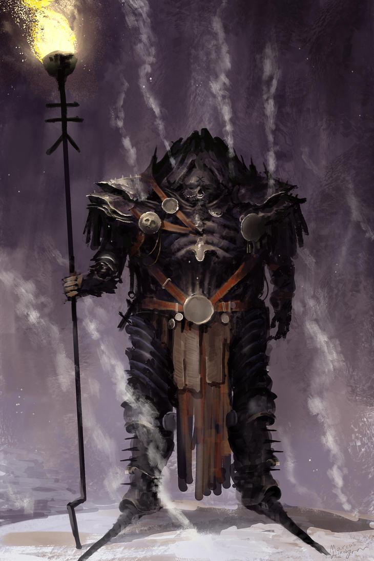 Hades lightbearer by Marcodalidingo