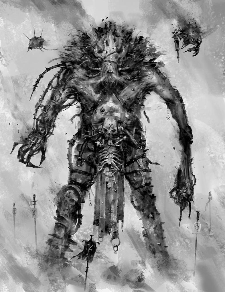 Lupus Gladiator by Marcodalidingo