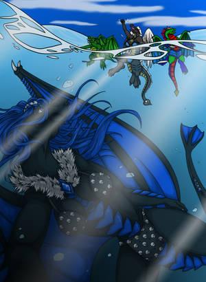 A Summer Swim by Gothie666