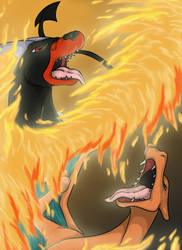 Fire VS Fire by Gothie666