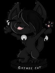 Pop Figurine Gothie Cat by Gothie666