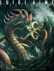 Sea Monster by luigiaime
