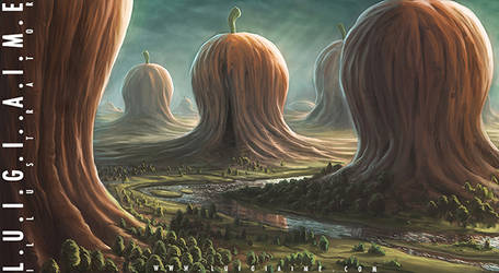 Giant Pumpkins Valley by luigiaime