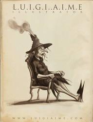 Esmelia The Witch by luigiaime