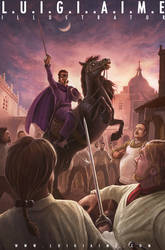 Zorro, Curse of Capistrano by luigiaime