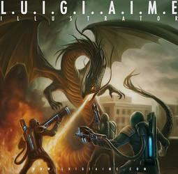 Monster Hunter Cover by luigiaime