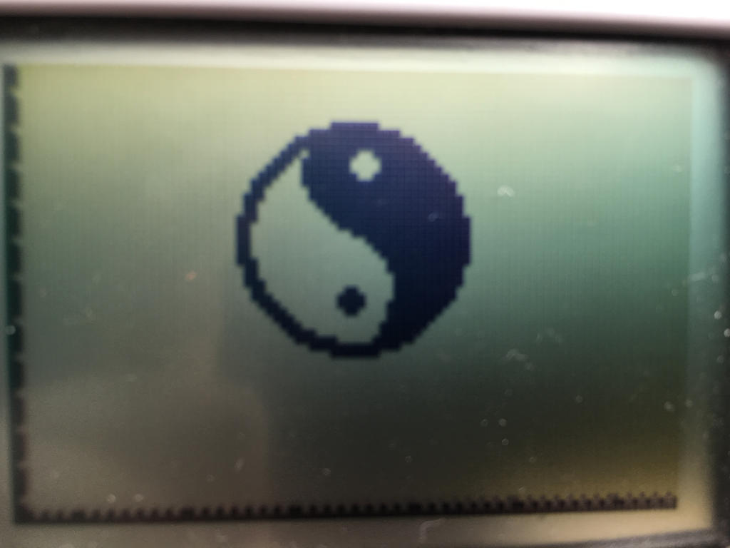 Yin Yang calculator pixel art by nindroidlover14 on DeviantArt