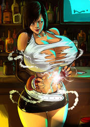 The Breast Expansion Materia by expansion-fan-comics