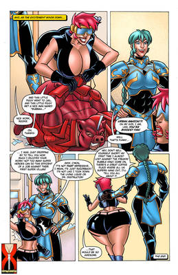 Page 15 - Cleavage Crusader - Expansion Fan Comic