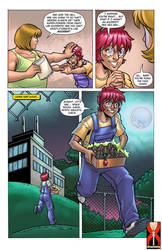 Page 02 - Cleavage Crusader - Expansion Fan Comic by expansion-fan-comics