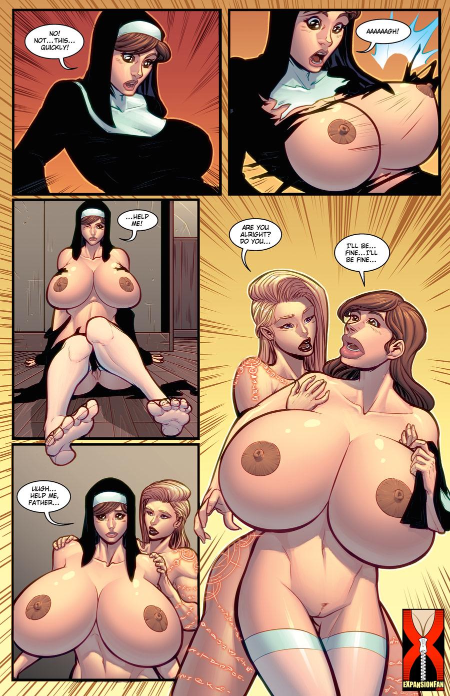 Nun Breaking The Habit by expansion-fan-comics