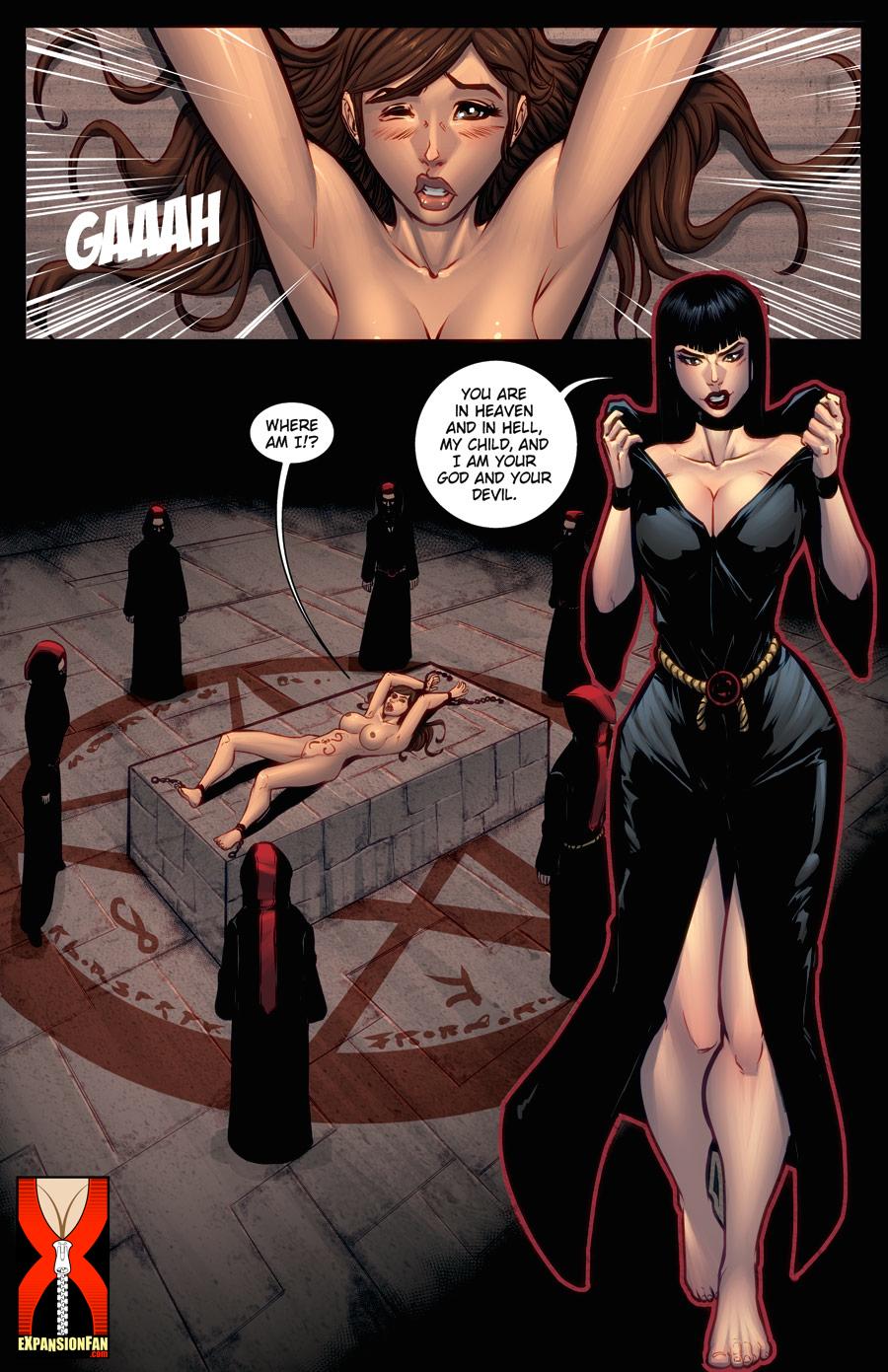 comics story demon nuns