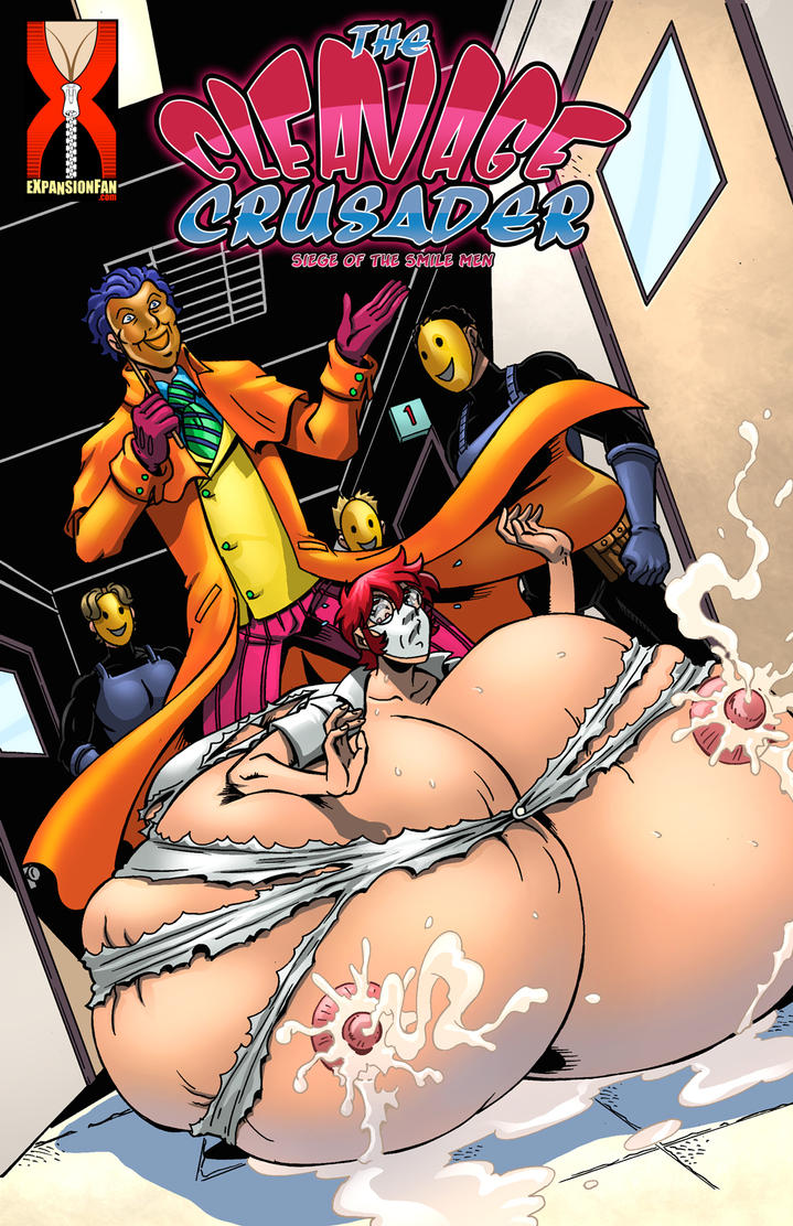 The Cleavage Crusader 6 - Siege of the Smile Men by expansion-fan-comics