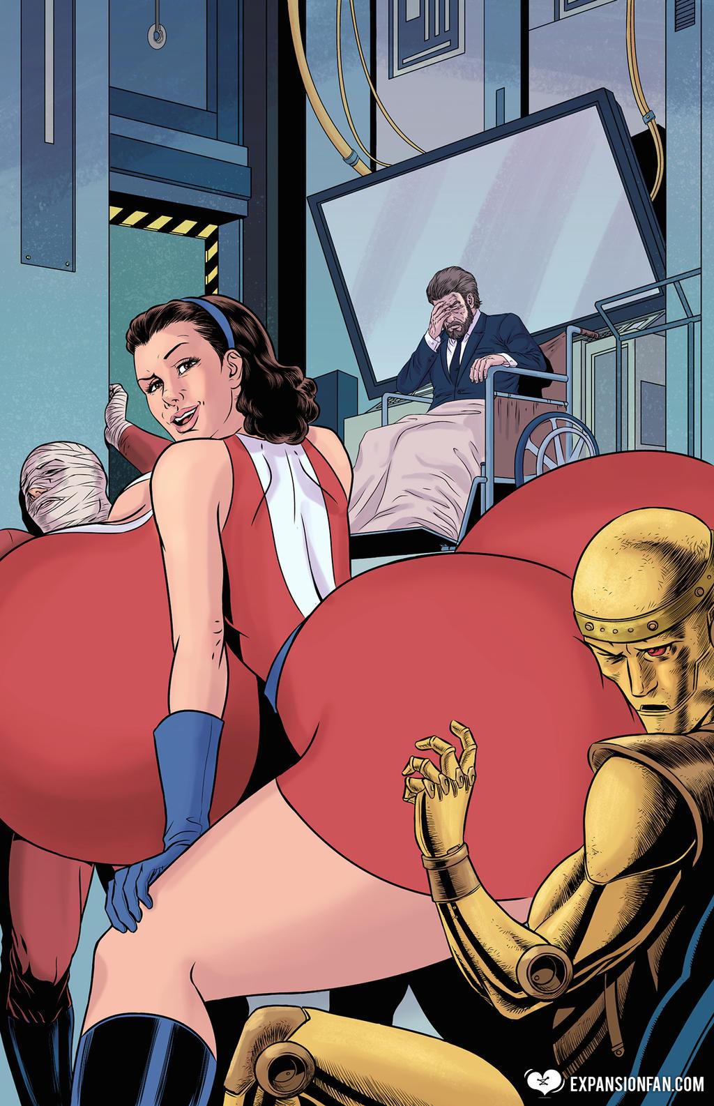 hot woman ass inflation