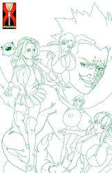 The Bouncing Squad - Work in Progress by expansion-fan-comics