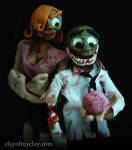 'Dead Love' Puppets