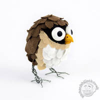 Scrap Owl by Clayofmyclay