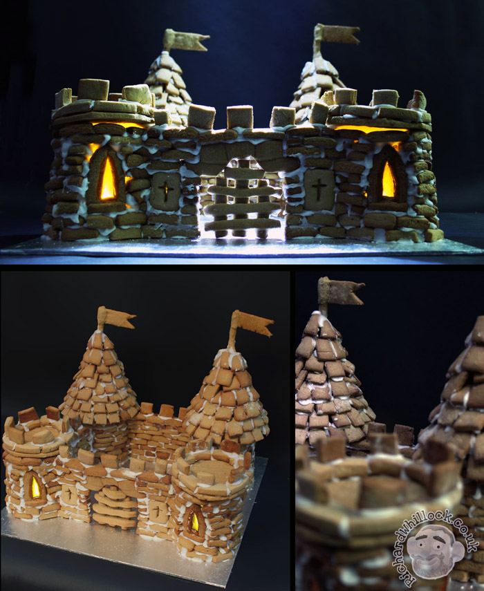 Gingerbread Castle 2012 by Clayofmyclay