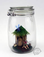 Fairy Jar by Clayofmyclay