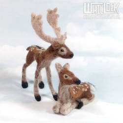 Fallow Deer Topper by Clayofmyclay