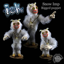 Ick the Snow Imp by Clayofmyclay