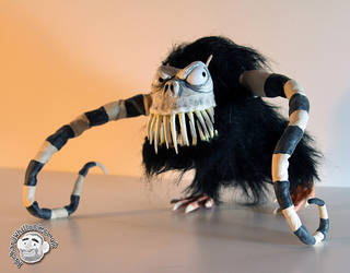Alien Monster Puppet 2 by Clayofmyclay