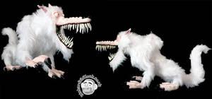 White Wolf Puppet 2
