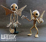 Jar Goblin Puppets by Clayofmyclay