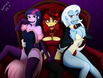 3 Is More Fun by drake-rex